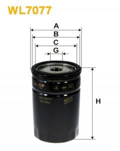 Фильтр масляный WIX WL7077 - FN OP532/1