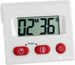 Кухонный цифровой таймер TFA с секундомером (382008)