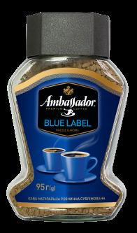 Кофе растворимый Ambassador Blue Label 95 г (7612654000669)