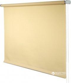 Ролета тканевая Деко-Сити Мини 73x170 см, лен, Светлый абрикос (31112073170)