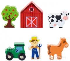 Набор для железной дороги Viga Toys Ферма (50812)