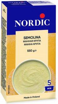 Крупа манная NordiC 550 г (6416597884024)