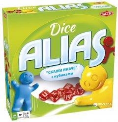Настольная игра Tactic Alias с кубиками (53139) (6416739531397)