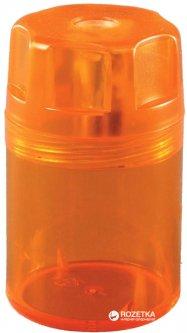 Точилка Herlitz Canister с контейнером 1 отверстие Оранжевая (8680001Y)