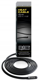 Нагревательный кабель Hagen Heat Cable 3.5 м 15W для террариумов (015561220118)