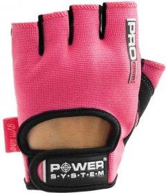 Перчатки для фитнеса Power System Pro Grip PS-2250 S Pink (PS-2250_S_Pink)