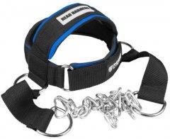 Тренажер для шеи Power System Head Harness PS-4039 Black-blue (PS-4039_Black-Blue)