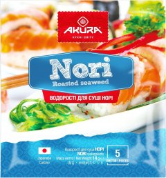 Нори Akura 5 листов (4820178460514)