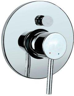 Верхняя часть смесителя для ванны JAQUAR Florentine FLR-CHR-5065K