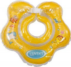 Круг для купания Lindo Желтый LN-1558 (8914927015585)