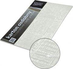 Набор дизайнерской бумаги Galeria Papieru Satyna - Bialy 220 г/м² А4 20 листов (5903069979537)
