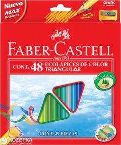 Набор цветных карандашей Faber-Castell 48 шт (7891360556404)