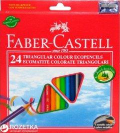 Набор цветных карандашей Faber-Castell 24 шт (7891360467427)