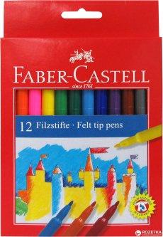 Набор фломастеров Faber-Castell Felt Tip 12 цветов (8591272000659)