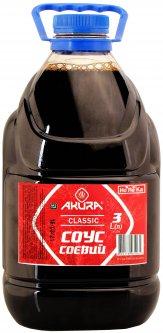 Соус соевый Akura классический 3 л (4820178461061)