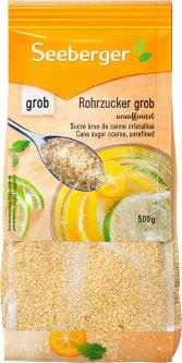 Сахар коричневый Seeberger тростниковый нерафинированный 500 г (4008258571019)