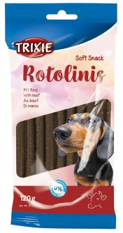 Лакомство для собак Trixie 31771 Rotolinis с говядиной 12 шт 120 г (4011905317717)