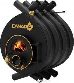 Печь калориферная для дома и дачи Canada ОО Classic со стеклом (СK-0020050S)