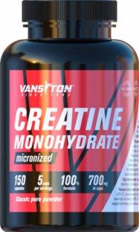 Креатин Vansiton моногидрат 150 капсул (4820106590481)