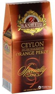Чай черный рассыпной Basilur Избранная классика Цейлонский ОР 100 г (4792252920699)