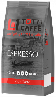 Кофе в зернах TOTTI Caffe Espresso 250 г (8718868256348)