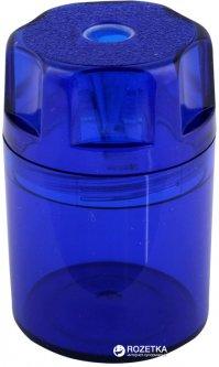 Точилка Herlitz Canister с контейнером 1 отверстие Синяя (8680001B)