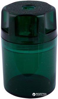 Точилка Herlitz Canister с контейнером 1 отверстие Зеленая (8680001G)