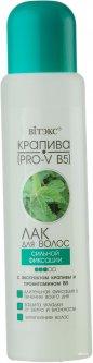 Лак для волос Витэкс сильной фиксации с экстрактом крапивы PRO-V-B5 запаска без дозатора 500 мл (4810153000514)