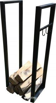 Стойка для дров UaStal Черная (2020001287185)