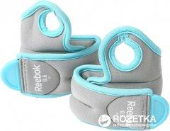 Утяжелители Reebok 1 кг Blue-Grey (RAWT-11071BL)
