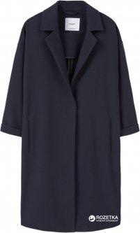 Пальто Mango 73043506 L Темно-синее (AB5000000131365)