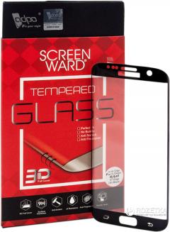 Защитное стекло ADPO для Samsung Galaxy 7 Edge Black (1283126472237)