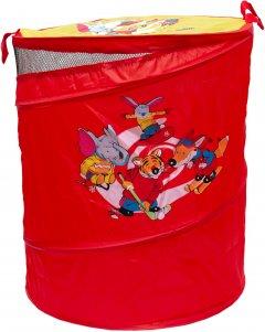 Бочка для игрушек Devik Play Joy Красная 46х57 см (Т0303B)