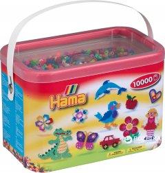 Набор цветных бусин Hama Midi 5+ 50 цветов 10000 шт (202-68)