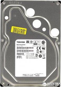 Жесткий диск Toshiba 4TB 7200rpm 128MB MG04ACA400E 3.5 SATA III
