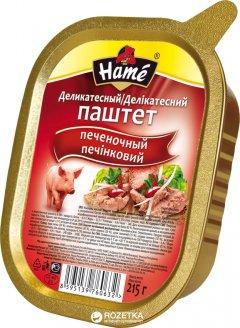 Паштет Hame деликатесный печеночный 215 г (8595139760632)