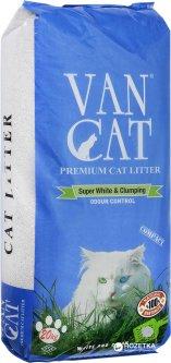 Наполнитель для кошачьего туалета Van Cat Premium Cat Litter Бентонитовый комкующий 20 кг (24 л) (8699245856248)