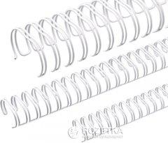 Металлические пружины bindMARK 6.4 мм 100 шт Белые (20000472110)