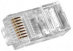 Коннектор Patron UTP RJ-45 (RJ-45) Cat.5е (8P8C) 40 шт. (CON-RJ-45-8P8C-40)