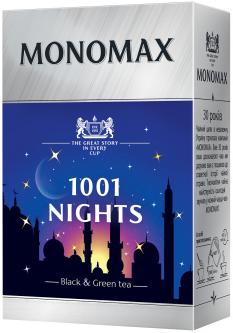 Бленд черного и зеленого чая Мономах 1001 Nights 80 г (4820198870126)