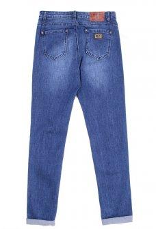 Молодіжні джинси з манжетами 27