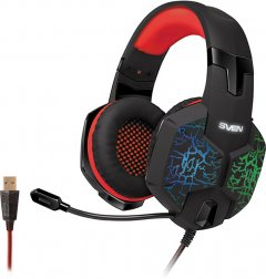 Наушники Sven AP-U988MV Black-Red (AP-U988MV black-red)