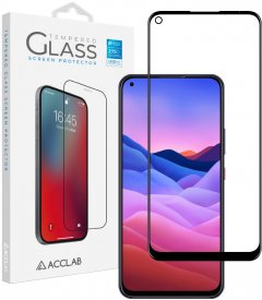 Защитное стекло ACCLAB Full Glue для ZTE Blade V2020 Black (1283126508912)