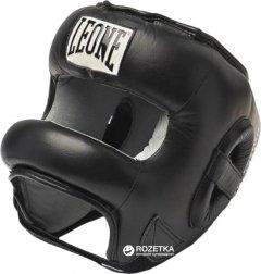 Боксерский шлем с бампером Leone Protection Черный (1585_500050)