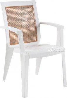 Кресло Papatya Sapphire Белое (4511kmd)