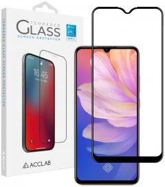 Защитное стекло ACCLAB Full Glue для Vivo Y15/Y17/Y3 Black (1283126508974)