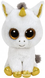 TY Beanie Boo's Белый единорог Pegasus 15 см (36179)