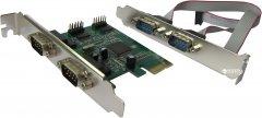 Контроллер Dynamode PCI-E-RS232 (COM) (4 внешних порта) (RS232-4port-PCIE)