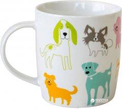 Чашка Keramia Разноцветные собачки 415 мл (21-272-045)