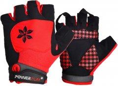 Велоперчатки женские PowerPlay 5284A M Red (5284A_M_Red)